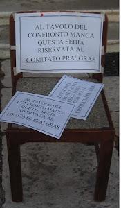 La SEDIA del Comitato..