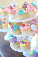 cute cupcakes from Inside My Party blog