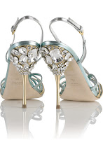 Miu Miu strappy jeweled sandal