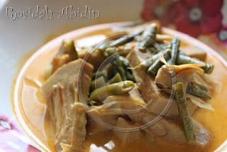 Young Jackfruit & Long Beans Soup Recipe