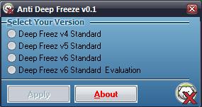anti DeepFreeze all version