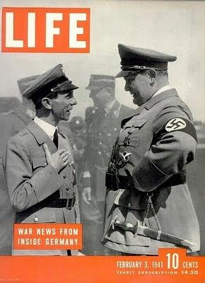 Göring e Goebbels su Life