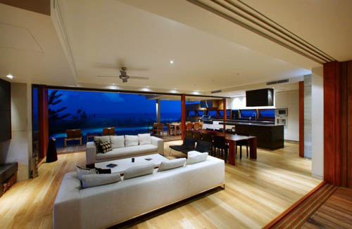 Къщата на Уилям Арчибалд Luxury-Peregian-Beach-House-Elegant-Interior-Decor