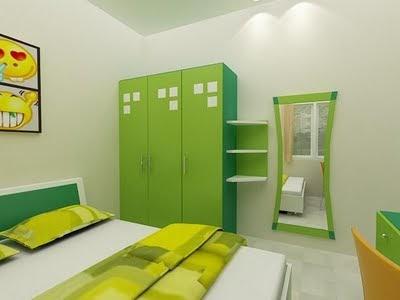 8 desain warna cat kamar tidur minimalis