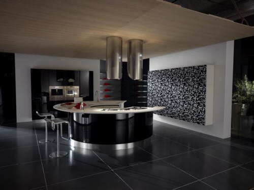 Excellent Black with Dark Floor Kitchen Design 500 x 375 · 61 kB · jpeg