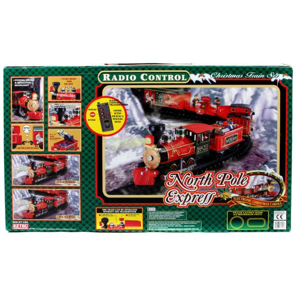 Deluxe remote control 36 pc north pole express train set reviews