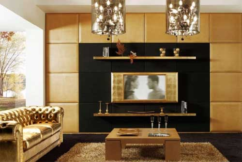 Modern And Art Deco Of Living Room Decoration