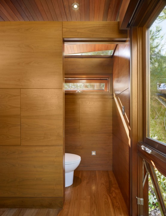 Comfortable Wooden Tree House – Contemporary Office And Private