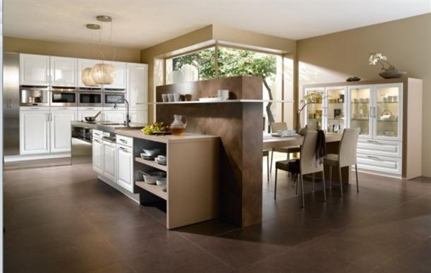 Home design interior decor home furniture for Modern chic kitchen designs