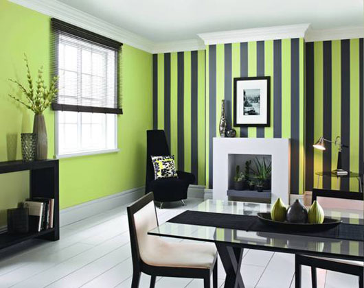 Brighton beach interior design decorating with bright for Dining room color design ideas