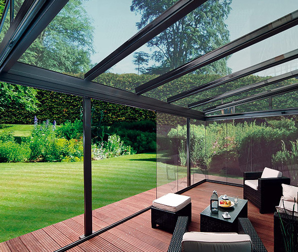 Backyard Room Ideas :   Modern Outdoor Glass Patio Rooms Design 2011 ? Glasoase by Weinor