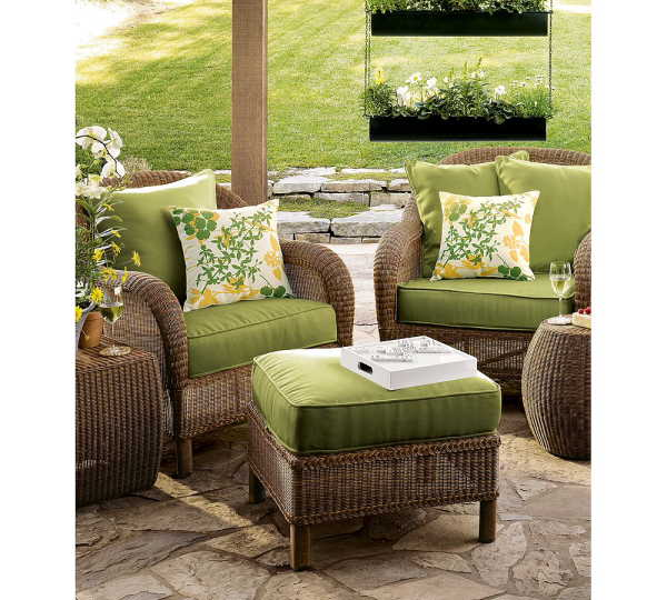 Brighton Beach Outdoor Wicker table and Chair – Outdoor Furniture Ideas 2011