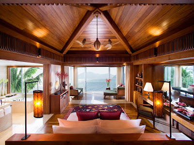 Home design interior decor home furniture for Beach villa design ideas
