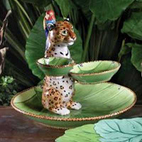 The three dimensional feature of this collection is what makes it truly unique. The Jungle Jubilee 3-tiered server Jungle Jubilee chip and dip set ... & Home Gifts and Accessories in St. Louis: Jungle Jubilee: Lynn Chase ...