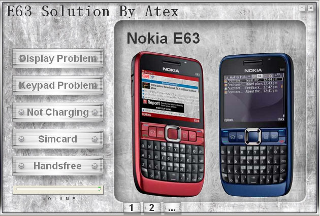 Nokia E63 Hardware Solution