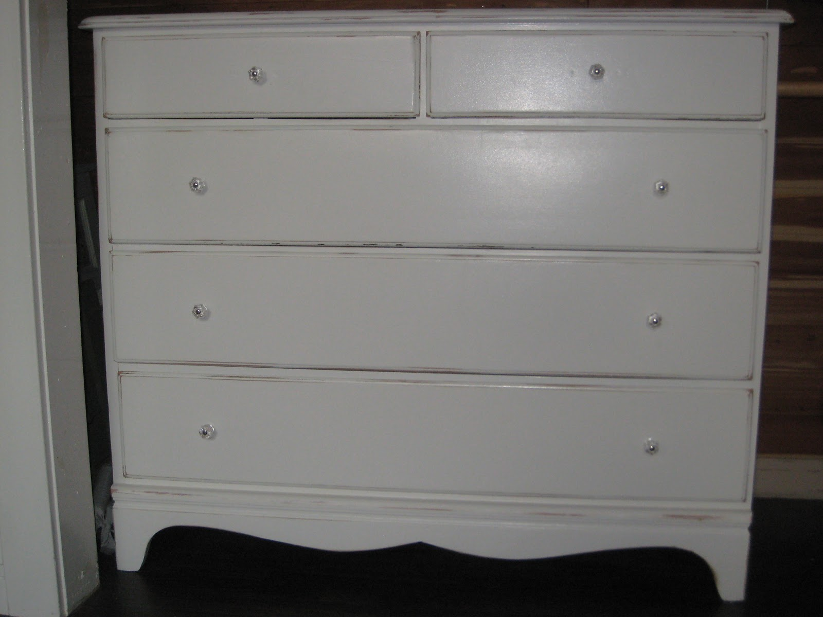 My greenbrae cottage shabby chic dresser the story of How to store clothes without a dresser