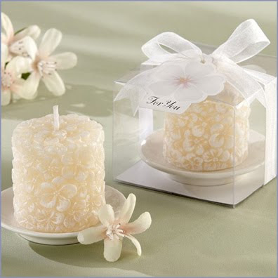 flowers candle for use with our flameless tea lights or