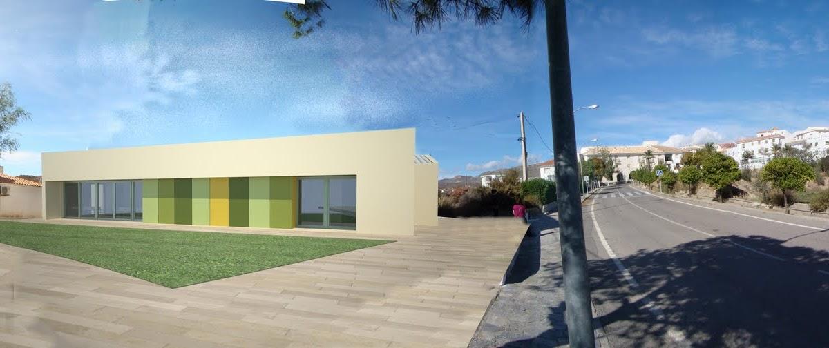 Mn arquitectos almeria propuesta para centro de salud en - Colegio arquitectos almeria ...
