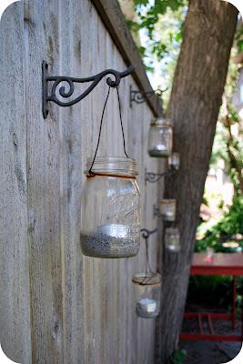Chez beeper bebe tutorial how to make a mason jar lantern - Make hanging lanterns ...