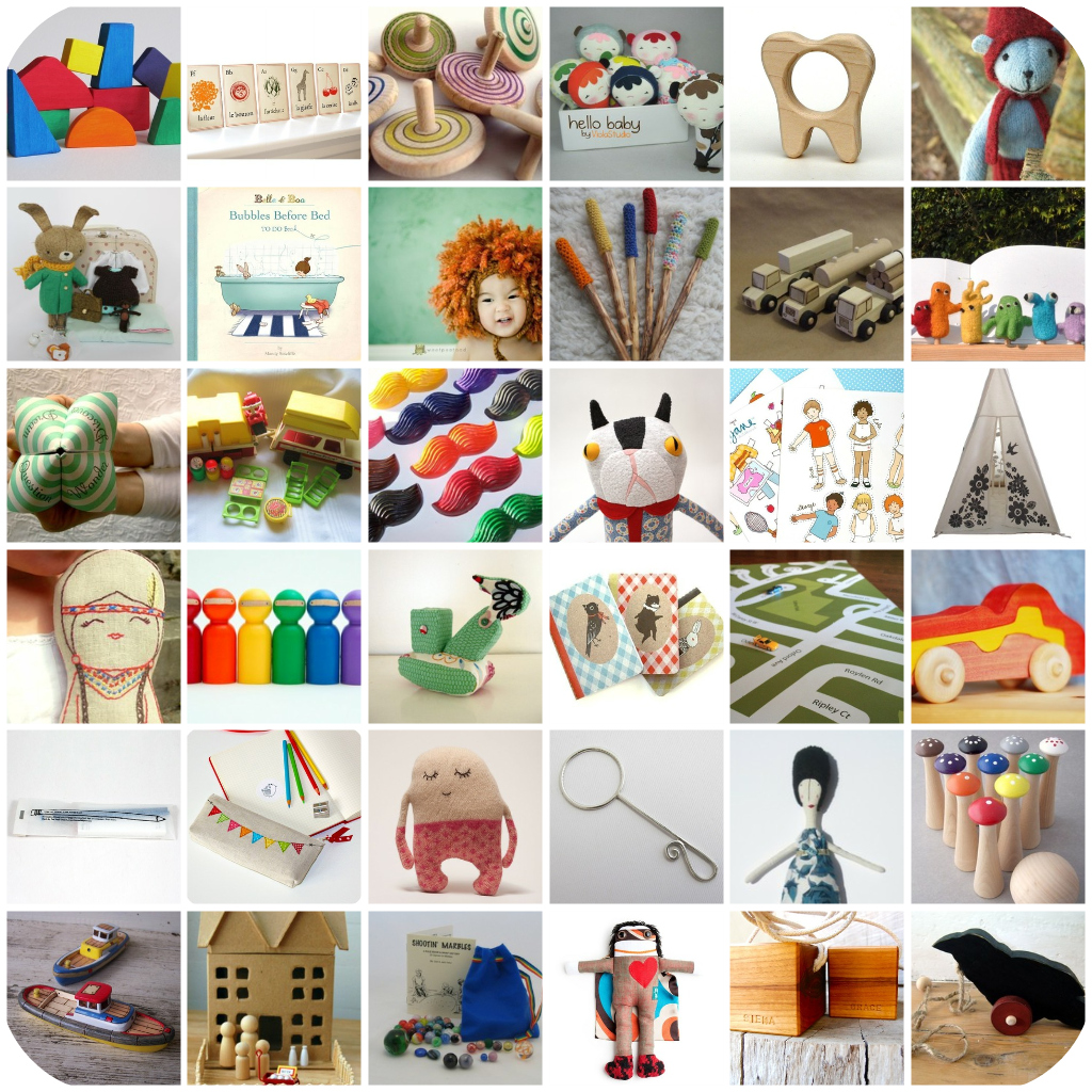 Chez Beeper Bebe: Etsy Handmade Toy Guide