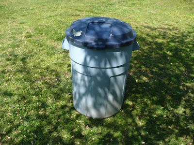 garbage can compost bin