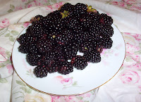 Home Grown Blackberries