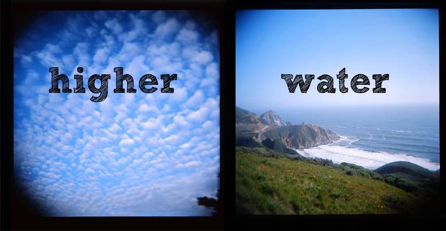 higher water