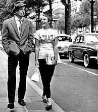 "Paris. Belmondo & Seberg i ""Till sista andetaget"""