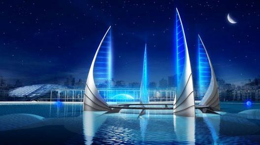 Arquitectura milenaria estructura for Imagenes de hoteles bajo el agua