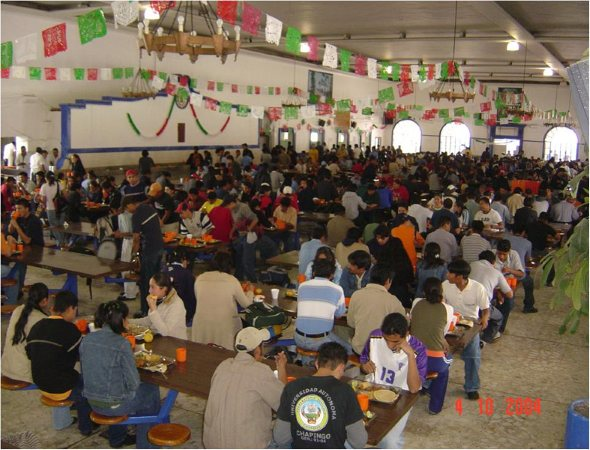 Comedor central campestre y deportivo blog chapinguero for Comedor estudiantil