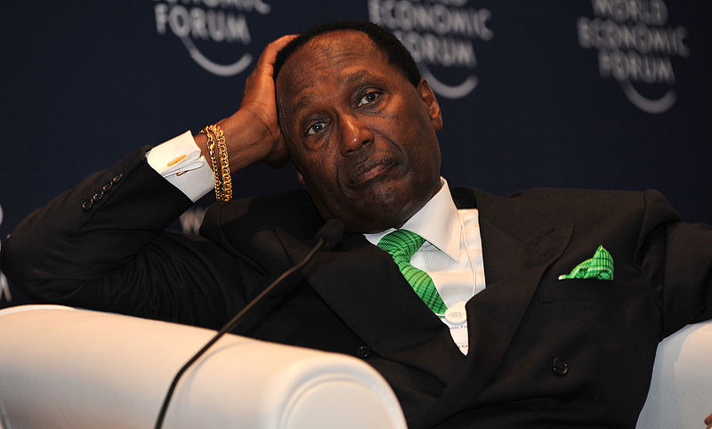 Meet one of Kenya's richest men is Mr. Christopher Kirubi. He is worth