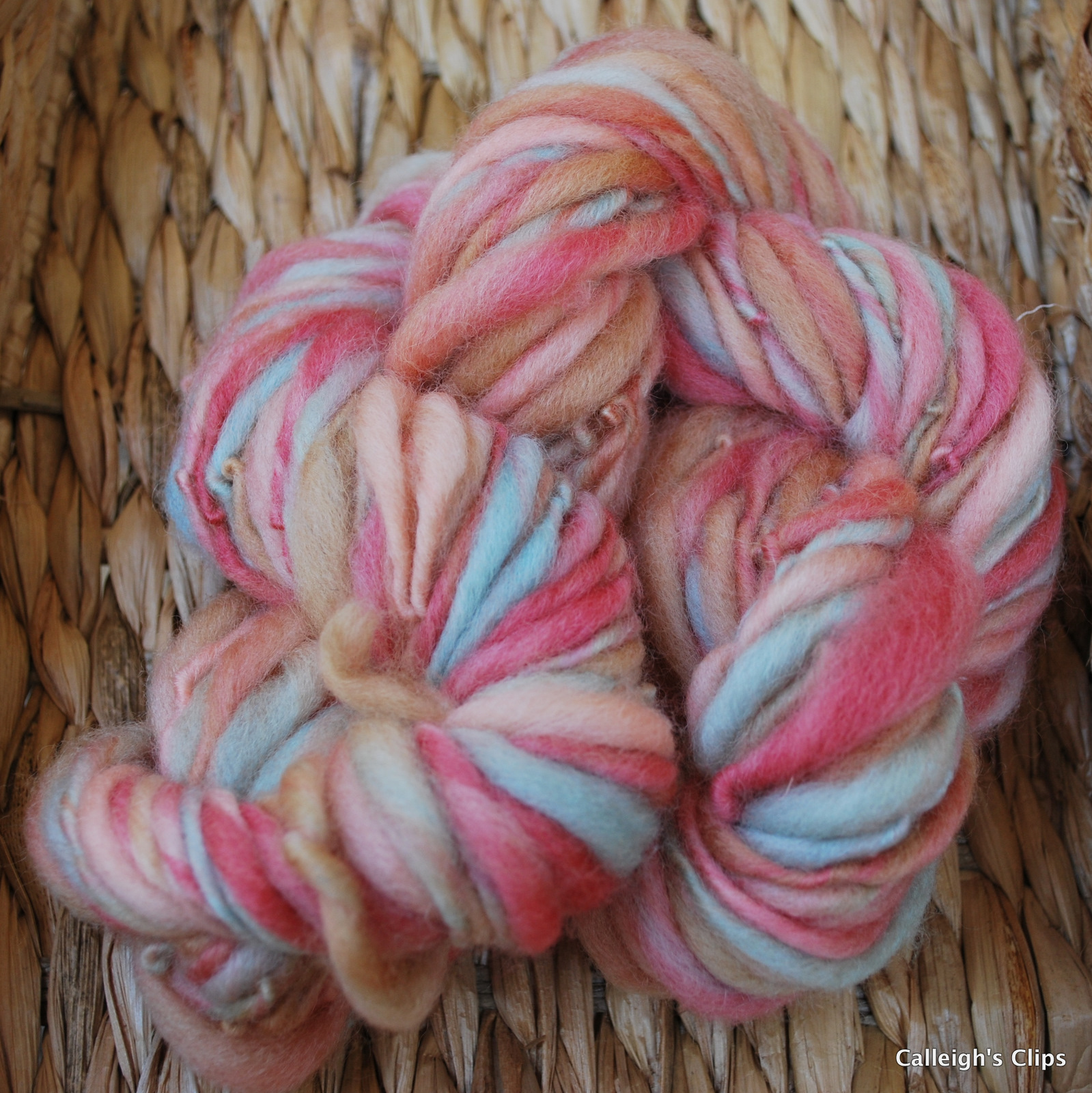 Calleighs Clips & Crochet Creations: Thick and Thin Yarn
