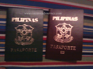 new and old Philippines passport