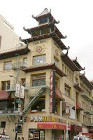 Building in San Francisco Chinatown