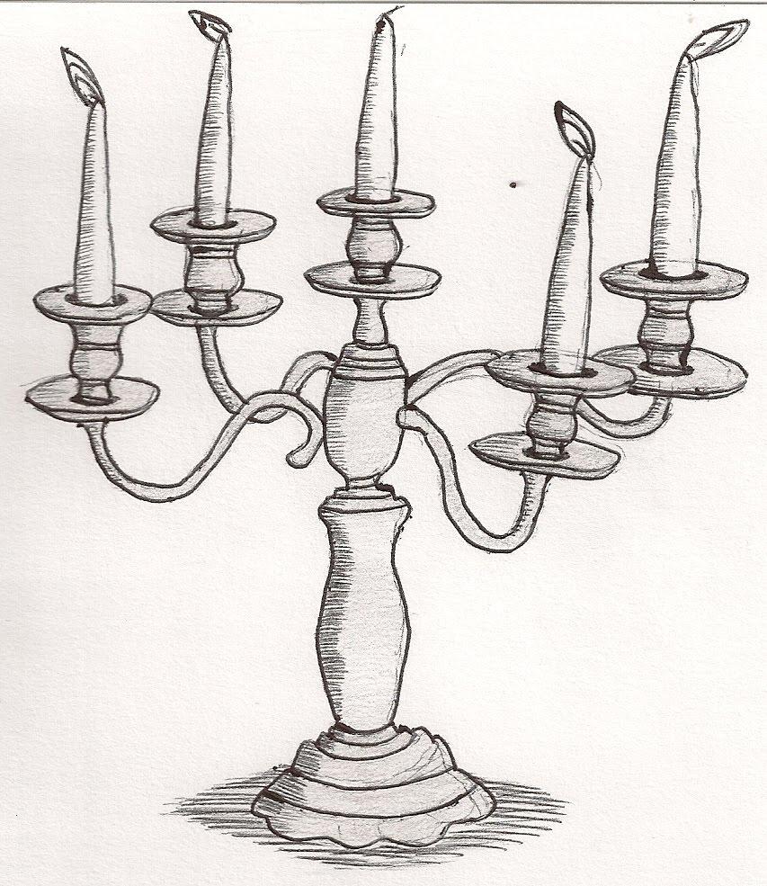 candlestick drawing wwwimgkidcom the image kid has it