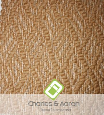 Abaca-Wool Woven Carpet