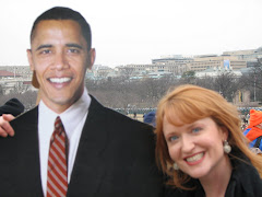 Hanging with Barack at the Sunday Inaugural concert