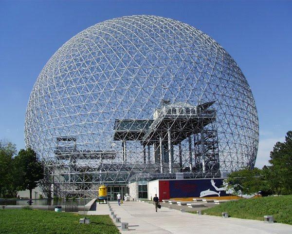 Biosphera del parque Jean Drapeau