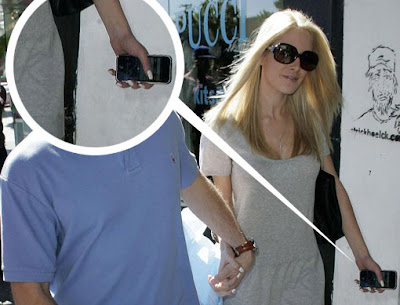 hid01 Heidi Montag : La Star et son iPhone