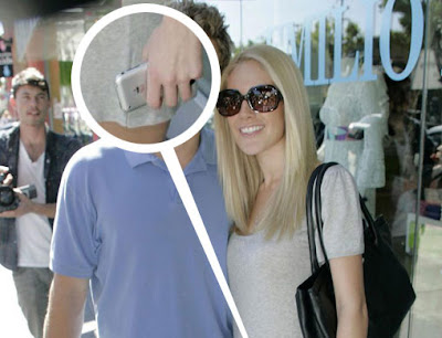 hid02 Heidi Montag : La Star et son iPhone