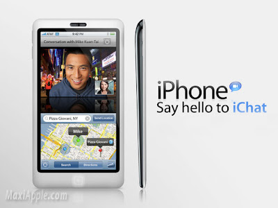iphone 4g mockup iPhone 4G : Dispo Dès Avril 2010 ?!