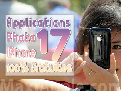 photo iphone apps 17 Applications Photo iPhone 100 % Gratuites