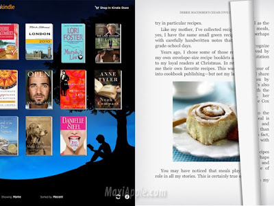 amazon kindle ipad 2 Amazon Kindle iPad : Une Application pour Avril 2010