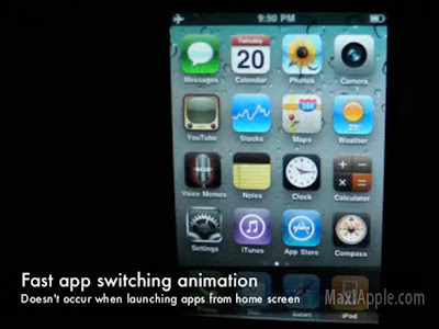 iphone 4 multitask switch iPhone OS 4.0 : Bluffant Multitache et Switch dApplications (video)