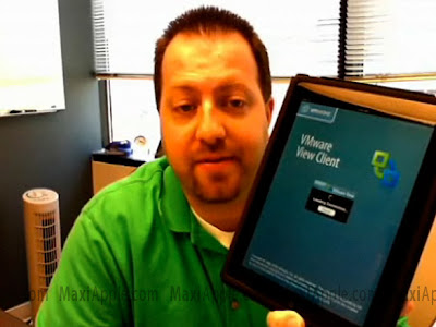 vmware ipad windows xp Windows XP sur iPad (video)