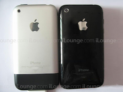 7 iPhone 3G et iPhone EDGE Cote a Cote (image)