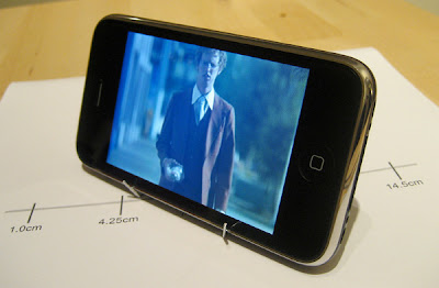 iPhone et iPod Touch : Support en Trombone (video)