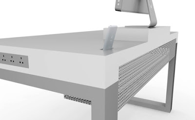 novanta5 Simple Desk pour iMac et iPhone : Bureau de Pro (images)