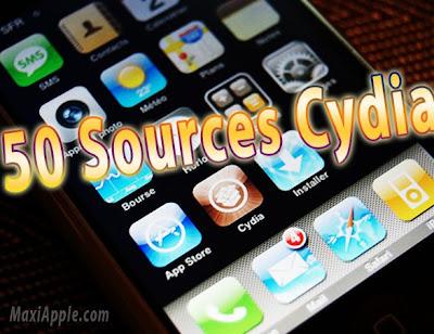 source cyd iPhone et iPod Touch : 50 Sources Cydia (gratuit)