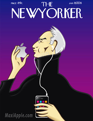 steve jobs newyorker Steve Jobs : Excellente Illustration par Camilo Ramirez